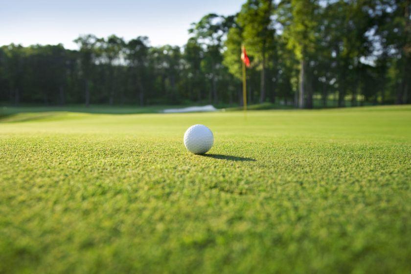Herbst mit Golf