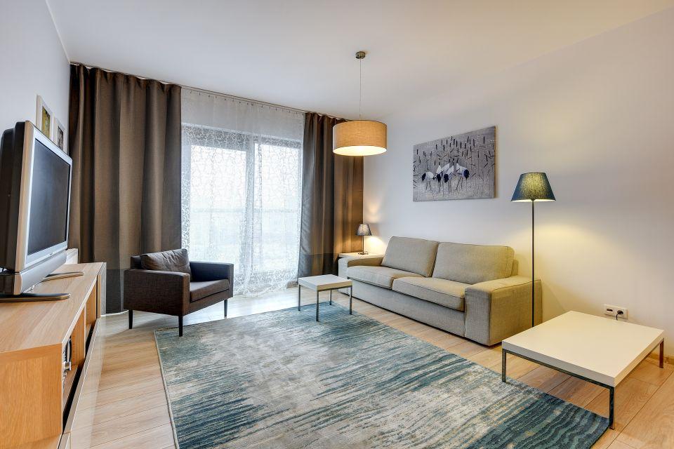 C10 Apartament z 1 sypialnią i widokiem na miasto WATERLANE